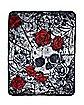 Gothic Romance Fleece Blanket