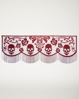 2 Ft Gothic Romance Mantel Scarf - Decorations by Spencer's