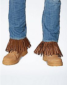 Adult Dark Brown Scarecrow Arm and Leg Cuffs