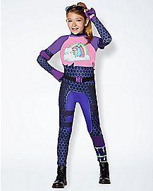 Kids Brite Bomber Costume - Fortnite