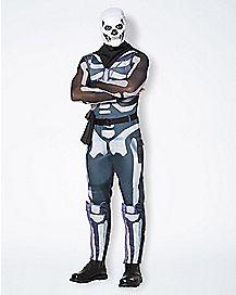 Adult Skull Trooper Costume - Fortnite