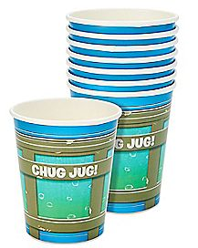 Battle Bus Chug Jug Party Cups 8 Pack - Fortnite