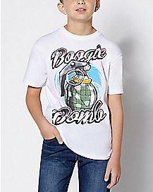 Kids Boogie Bomb T Shirt - Fortnite