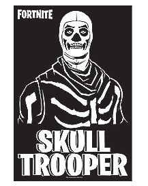 Skull Trooper Poster - Fortnite