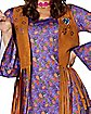 Adult Flower Power Hippie Costume