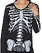 Sparkle Long Sleeve Skeleton T Shirt