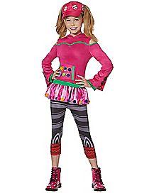 Kids Zoey Costume - Fortnite