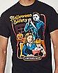 Halloween Safety Michael Myers T Shirt - Halloween