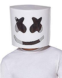 Kids Mesh Marshmello Half Mask