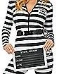 Adult Jailbird Catsuit Costume