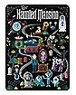 The Haunted Mansion Map Fleece Blanket - Disney