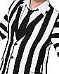 Adult Beetlejuice Striped Plus Size Suit