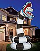 8.9 Ft Sandworm Inflatable Decoration - Beetlejuice