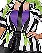 Adult Beetlejuice Plus Size Dress Costume