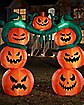9 Ft Light-Up Jack-O'-Lantern Inflatable Archway - Decorations