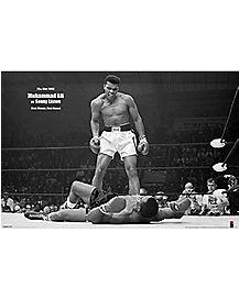Muhammad Ali Vs Sonny Liston 1964 Poster