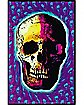 Skull Black Light Poster