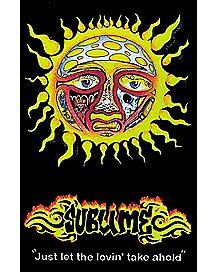 Sun Sublime Blacklight Poster