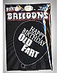 Happy Birthday Old Fart Balloons