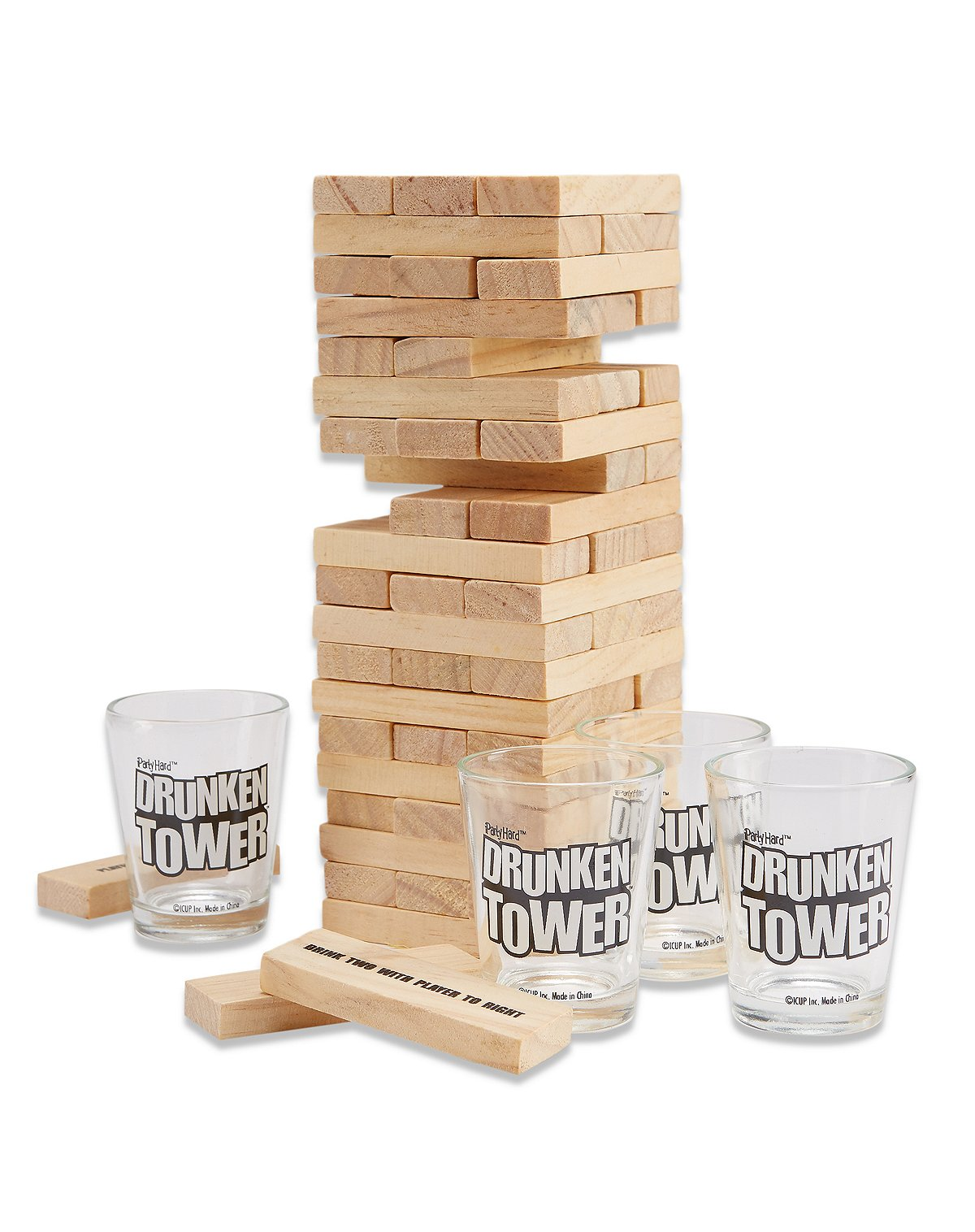 Grab a Piece Tower Drinking Game