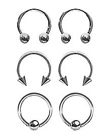 16 Gauge Captive & Horseshoe 6-Pack