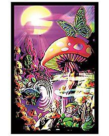 Magic Valley Blacklight Poster