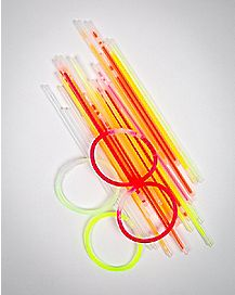 8 Inch Glow Sticks 100-Piece Set