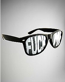 Fuck Me Black Sunglasses