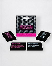 Bedroom Commands Card Game