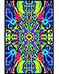 Psychedelic Black Light Poster