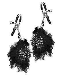 Feather Nipple Clips