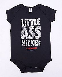 Little Ass Kicker The Walking Dead Baby Bodysuit