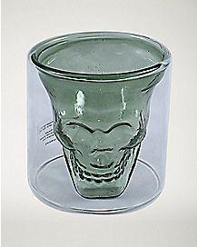Clear Skull Shot Glass