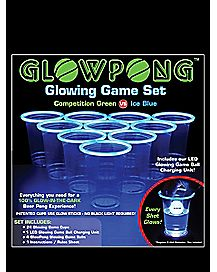 Glowing Competition Game Set-Green vs. Ice Blue
