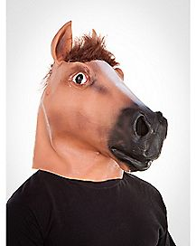 Deluxe Latex Horse Adult Mask
