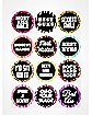Bachelorette Party Stickers 12 Pack
