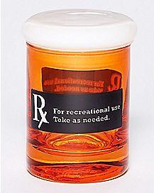 Rx Storage Jar - 3 oz Glass