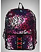 Pink Leopard Galaxy Corset Backpack