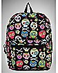 Multicolor Sugar Skull Backpack