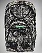 Black & White Graffiti Audio Backpack