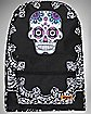 Sugar Skull Bandana Backpack