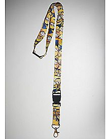 Minions Despicable Me Lanyard