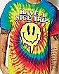 Have a Nice Trip Tie Dye T shirt