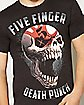 Sin City Skull Five Finger Death Punch T shirt