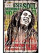 Laugh Fence Bob Marley Poster