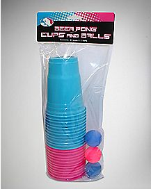 Blue and Purple Pong Kit - 18 oz.