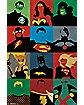 Minimalist  Justice League  Poster