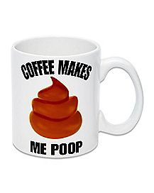 Coffee Poop Pile Coffee Mug - 12.5 oz.