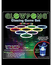 Glow Pong Mixed Competition Game Set