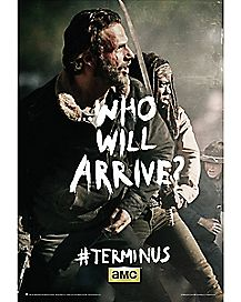 Who Will Arrive Rick The Walking Dead Poster